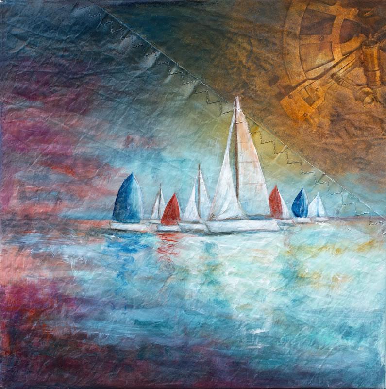 Olio su vela N°66, cm30x30